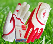 Fit39 Glove Ladies Red/White