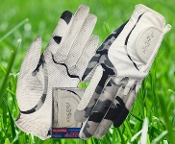 Ladies Glove Camouflage/White
