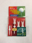 "Daiya Golf-Aero Spark Tee -2.7"" long -Clear Color (8-Pack) Set"
