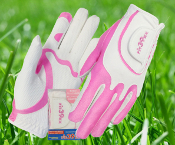 Halloween-Pair Special Fit39 Ladies Glove - Pink/White