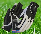 Fit39 Men's Pair Gloves - Silver/Black