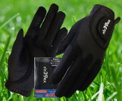Halloween-Pair Special Fit39 Ladies Glove - Black/Black