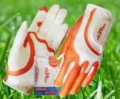Fit39 Glove Ladies Orange/White