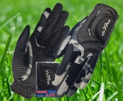 Ladies Glove Camouflage/Black
