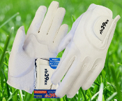 Fit39 Men's Pair Gloves - White/White