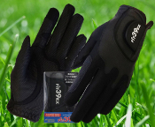 Fit39 Men's Pair Gloves - Black/Black