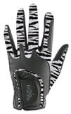 Ladies Glove Zebra/Black